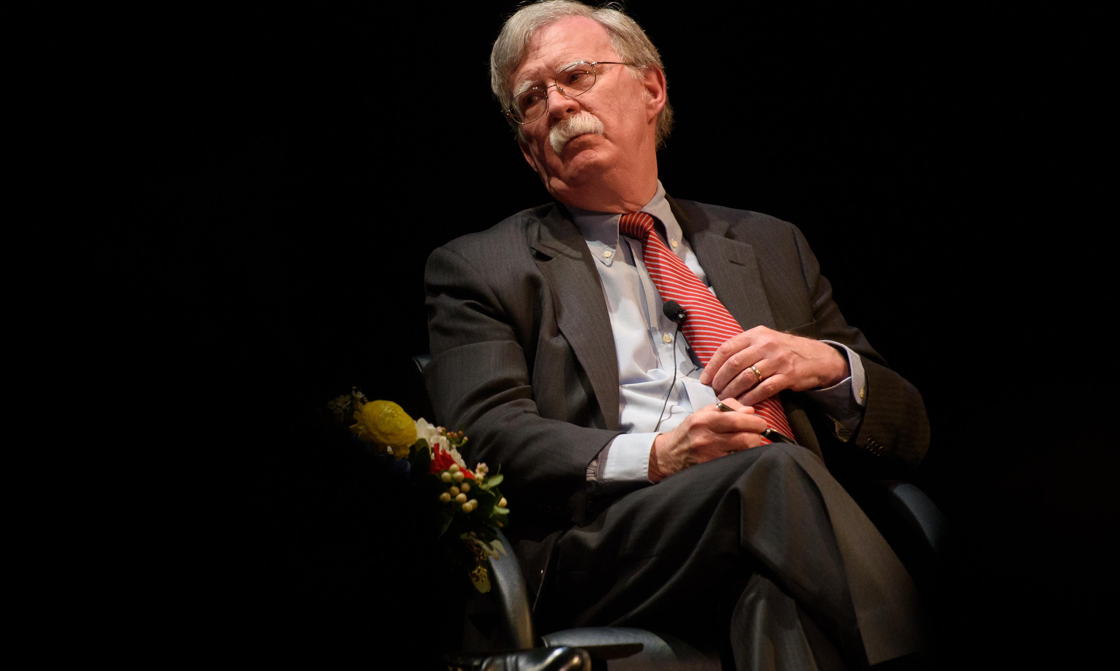 "John Bolton Hopes His Book Isn't ""Suppressed"""