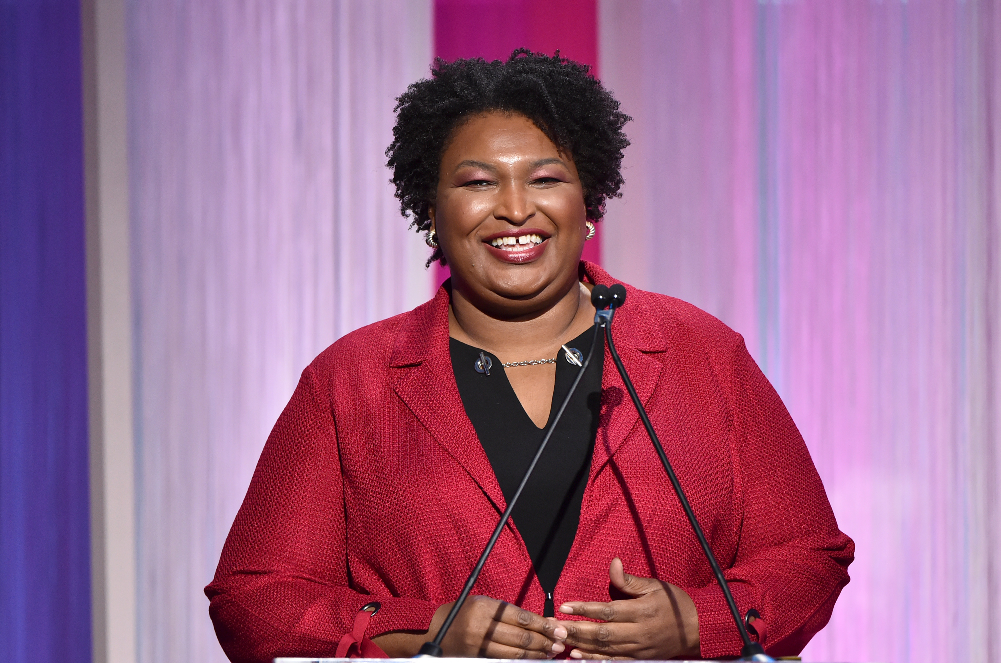 Stacey Abrams Writing Book on Voter Suppression