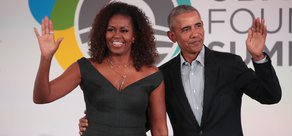 Obamas Read Children's Book for Chicago Library
