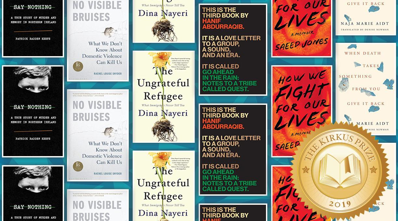 The Kirkus Prize: Spotlight on the Nonfiction Finalists