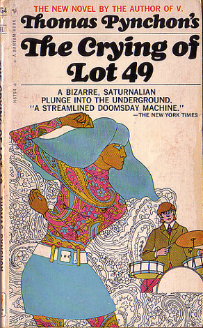 a comprehensive theme analysis of the crying of lot 49 a novel by thomas pynchon An exhaustive survey of music that was inspired by the work of american novelist thomas pynchon longer than any other pynchon novel the crying of lot 49.