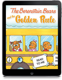 Cover art for THE BERENSTAIN BEARS AND THE GOLDEN RULE