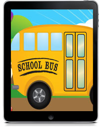 Book Cover for WHEELS ON THE BUS HD