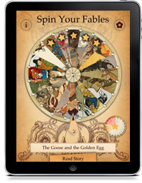 Cover art for AESOP'S WHEEL OF FABLES