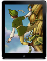 Cover art for JACK AND THE BEANSTALK CHILDREN'S INTERACTIVE STORYBOOK