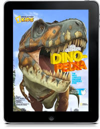 Cover art for THE ULTIMATE DINO-PEDIA