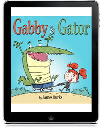 GABBY & GATOR by James Burks