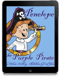 Cover art for PENELOPE THE PURPLE PIRATE