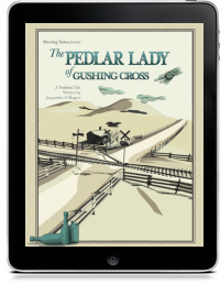 Book Cover for THE PEDLAR LADY OF GUSHING CROSS