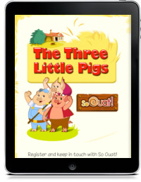 Cover art for THE THREE LITTLE PIGS HD