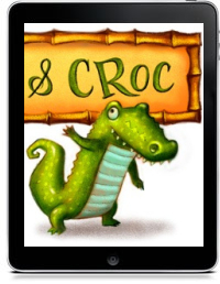 Cover art for MONKEY AND CROC