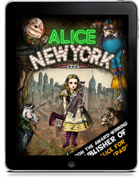 Cover art for ALICE IN NEW YORK