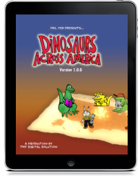 Cover art for DINOSAURS ACROSS AMERICA