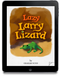 LAZY LARRY LIZARD by Graham Nunn