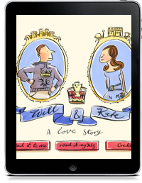 WILL & KATE by Adam Larkum