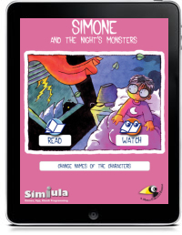SIMONE AND THE NIGHT'S MONSTERS by Graziano Vitale