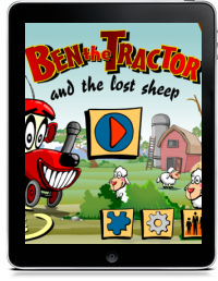 Cover art for BEN THE TRACTOR AND THE LOST SHEEP