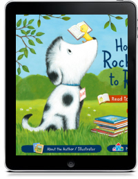 Cover art for HOW ROCKET LEARNED TO READ